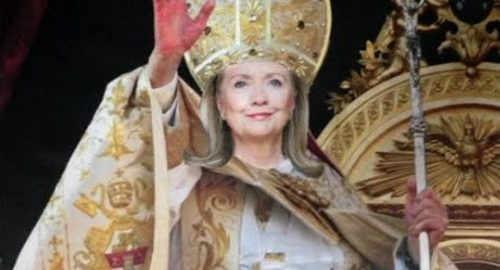 clinton-as-pope-500